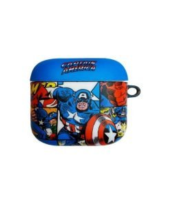 Marvel Comics 'Captain America' AirPods Case Shock Proof Cover