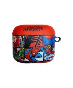 Marvel Comics 'Spiderman' AirPods Case Shock Proof Cover