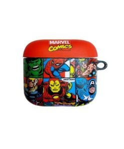 Marvel Comics AirPods Case Shock Proof Cover