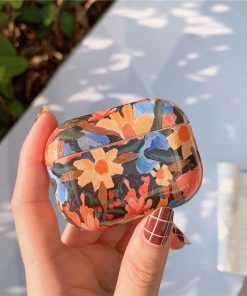 Flower Power Plastic | TPU AirPods Pro Case Shock Proof Cover