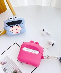 Purple Heart Muppet Premium AirPods Case Shock Proof Cover