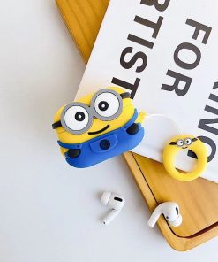 Minions 'Smirky Cyclops' Premium AirPods Pro Case Shock Proof Cover