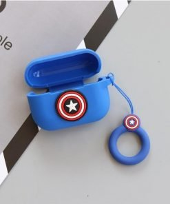 Superhero Soft Silicone AirPods Pro Case Shock Proof Cover