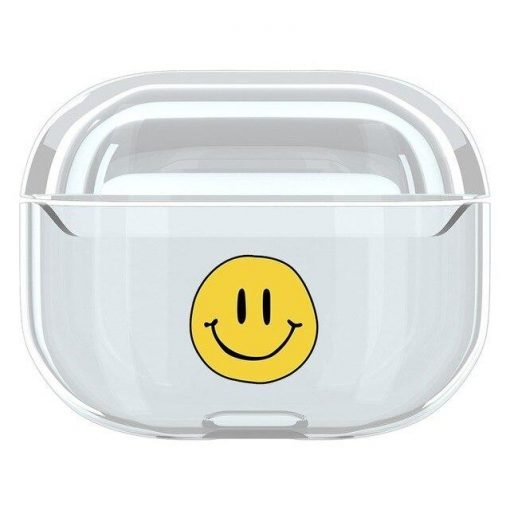 Cute Clear Acrylic AirPods Pro Case Shock Proof Cover