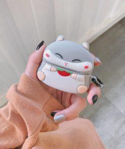 Cute Chipmunk Premium AirPods Pro Case Shock Proof Cover