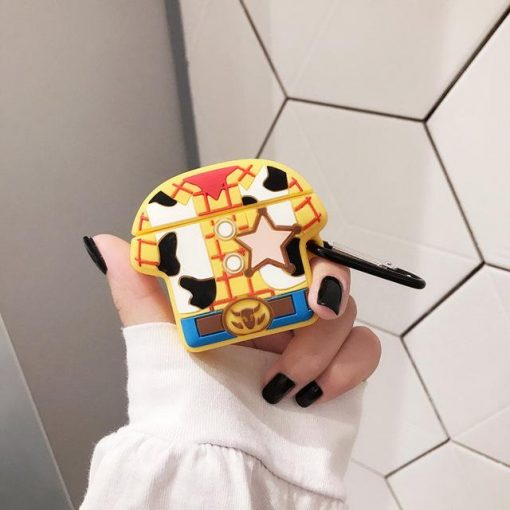 Toy Story 'Sheriff Woody Outfit' Premium AirPods Case Shock Proof Cover
