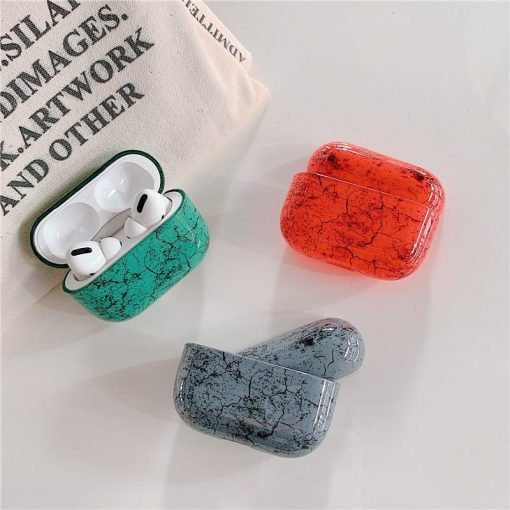 Stone Plastic   TPU AirPods Pro Case Shock Proof Cover