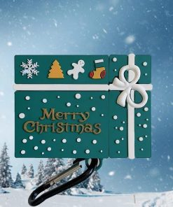 Luxury Christmas Gift Box Premium AirPods Case Shock Proof Cover