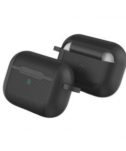 Ribbed Silicone AirPods Pro Case Shock Proof Cover With Reset Button