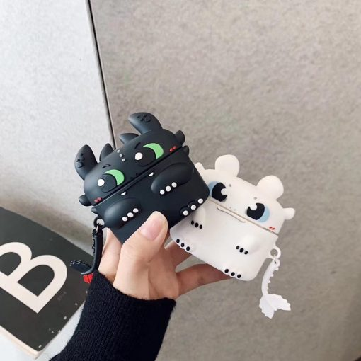 How to Train Your Dragon 'Light Fury' Premium AirPods Pro Case Shock Proof Cover