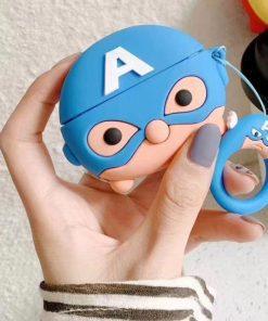 Captain America Premium AirPods Pro Case Shock Proof Cover