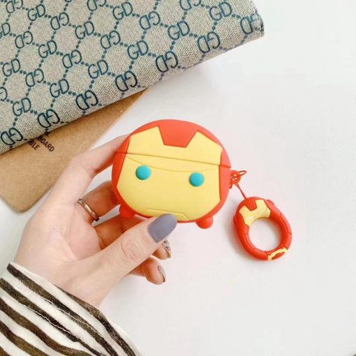 Iron Man Premium AirPods Pro Case Shock Proof Cover