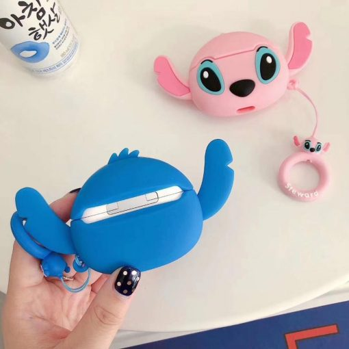Lilo and Stitch 'Stitch with Ears' Premium AirPods Pro Case Shock Proof Cover