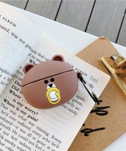 Bear with a Pacifier Premium AirPods Pro Case Shock Proof Cover
