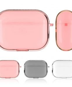 Clear Crystal TPU | Plastic AirPods Pro Case Shock Proof Cover