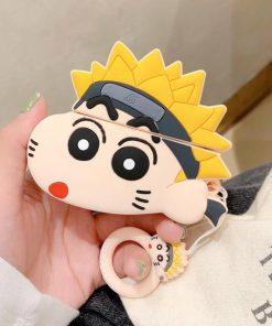Shin Chan 'Teen Naruto' Premium AirPods Pro Case Shock Proof Coer