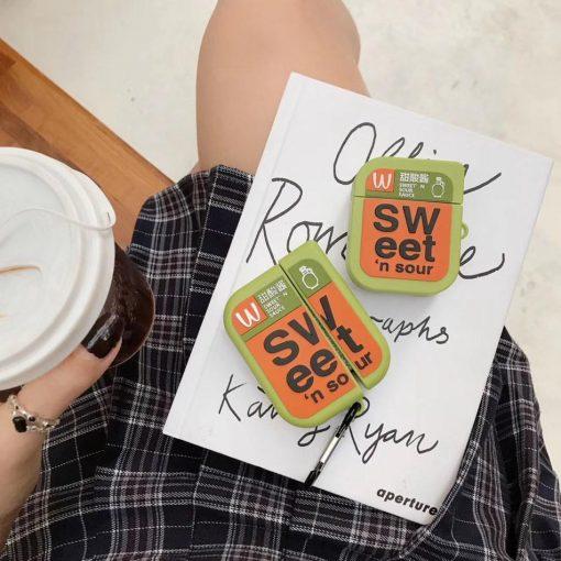 McDonald's Sweet 'n Sour Sauce Premium AirPods Pro Case Shock Proof Cover