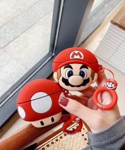 Super Mario Bros 'Toad' Premium AirPods Pro Case Shock Proof Cover