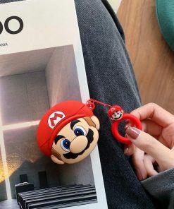 Super Mario Bros 'Mario' Premium AirPods Pro Case Shock Proof Cover