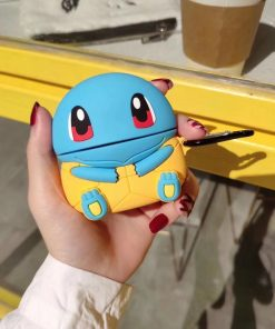 Pokemon 'Sitting Squirtle Yellow Shell' Premium AirPods Pro Case Shock Proof Cover