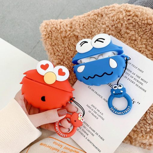 Sesame Street 'Elmo' Premium AirPods Pro Case Shock Proof Cover