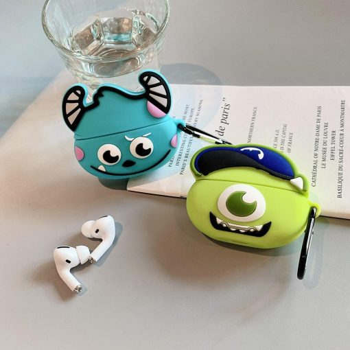 Monsters Inc. 'Monsters U   Mike Wazowski' Premium AirPods Pro Case Shock Proof Cover