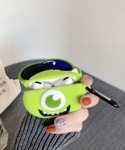 Monsters Inc. 'Monsters U | Mike Wazowski' Premium AirPods Pro Case Shock Proof Cover