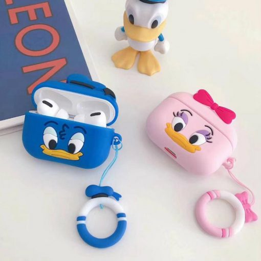Disney 'Smirky Daisy' AirPods Pro Case Shock Proof Cover