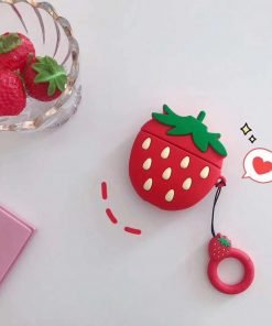 Strawberry Premium AirPods Pro Case Shock Proof Cover