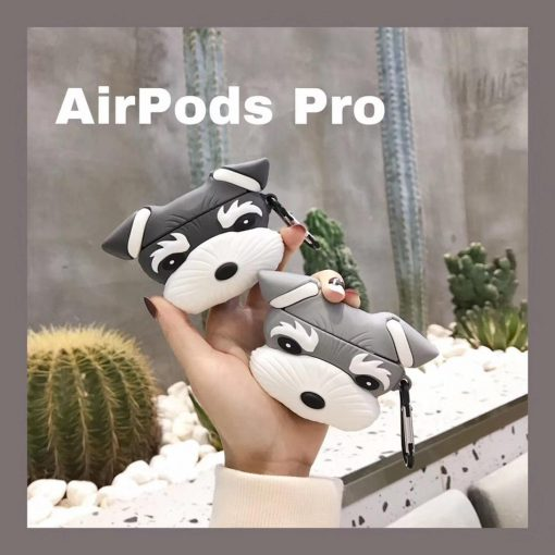 Doggy 'Schnauzer' Premium AirPods Pro Case Shock Proof Cover
