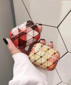 Geometric Plastic | TPU AirPods Pro Case Shock Proof Cover