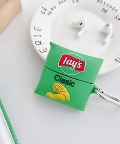 Sour Cream 'n Onion Lays Chips Premium AirPods Pro Case Shock Proof Cover