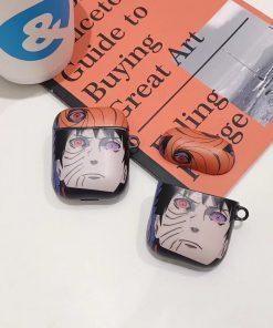 Naruto 'Uchiha Obito' AirPods Case Shock Proof Cover