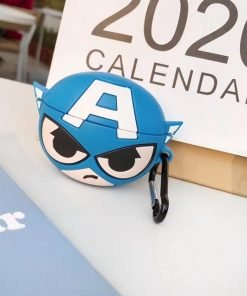 Captain America 'Battle' Premium AirPods Pro Case Shock Proof Cover