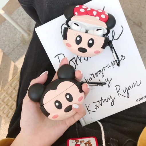Smiling Minnie Mouse Premium AirPods Pro Case Shock Proof Cover