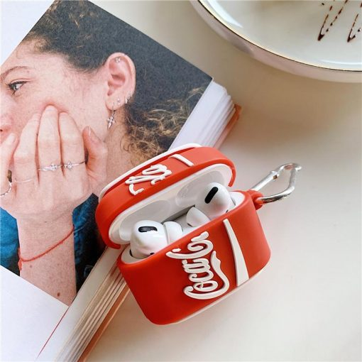 Coca Cola Can Premium AirPods Pro Case Shock Proof Cover