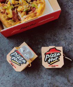Pizza Hut Box Premium AirPods Case Shock Proof Cover