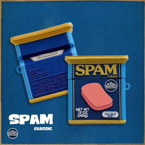 SPAM Premium AirPods Case Shock Proof Cover