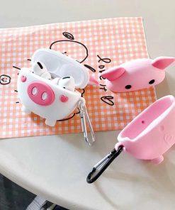 Cute Piggy Premium AirPods Pro Case Shock Proof Cover