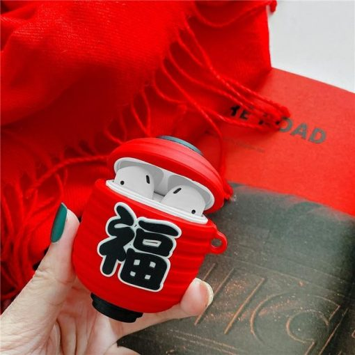 Chinese New Year Premium AirPods Case Shock Proof Cover