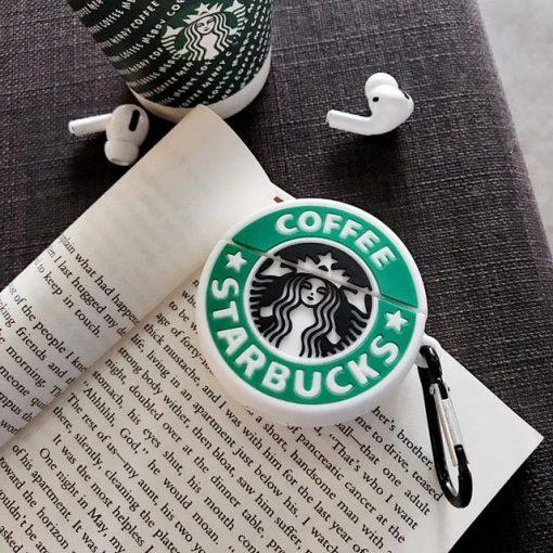 Starbucks Logo Premium AirPods Pro Case Shock Proof Cover