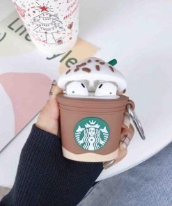 Starbucks Iced Chocolate Frappuccino Premium AirPods Case Shock Proof Cover