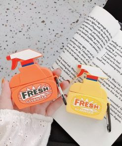 Cleaner Spray Bottle Premium AirPods Pro Case Shock Proof Cover