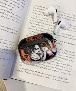 One Piece 'Portgas D. Ace' AirPods Pro Case Shock Proof Cover