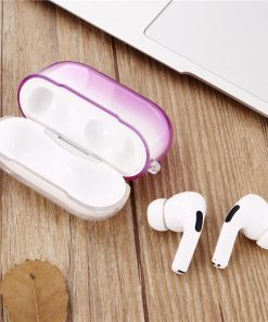 Soft Gradient Silicone AirPods Pro Case Shock Proof Cover