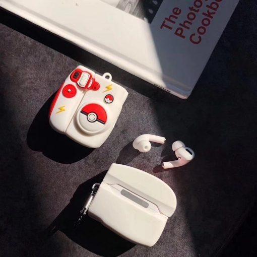 Pokemon 'Poke-Camera' Premium AirPods Pro Case Shock Proof Cover