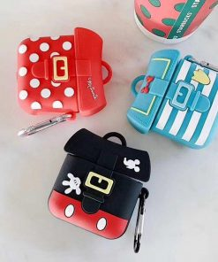 Disney 'Backpack | Mickey Minnie Donald' Premium AirPods Pro Case Shock Proof Cover