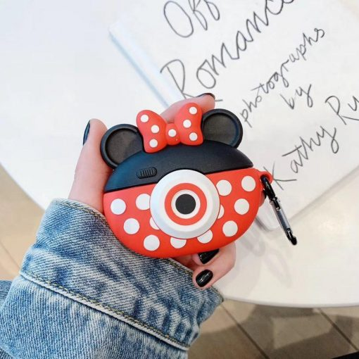 Disney 'Mickey and Minnie Camera' Premium AirPods Pro Case Shock Proof Cover
