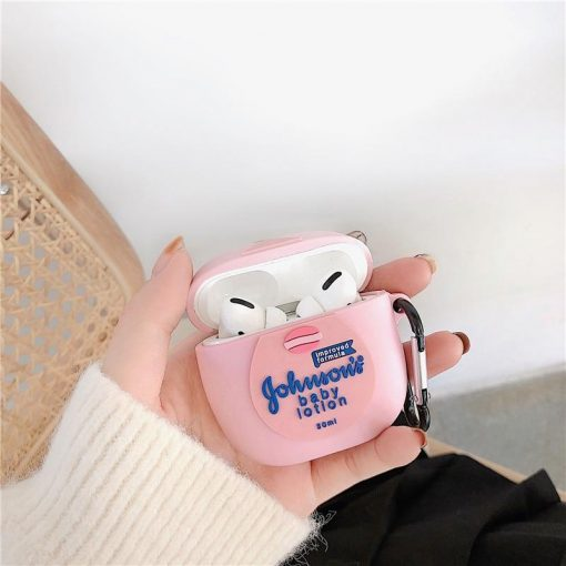 Johnson and Johnson Baby Oil Premium AirPods Pro Case Shock Proof Cover