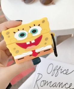 Spongebob Premium AirPods Pro Case Shock Proof Cover